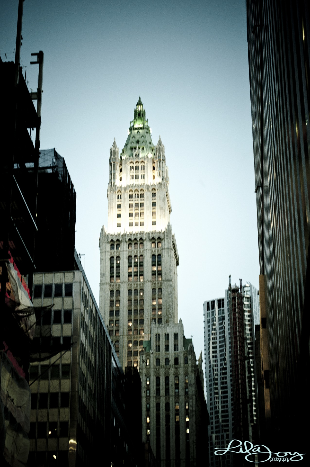 Woolworth Building · Cass Gilbert, architect